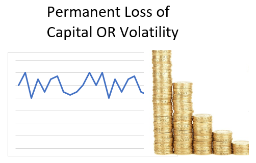Is risk volatility or permanent loss of capital?