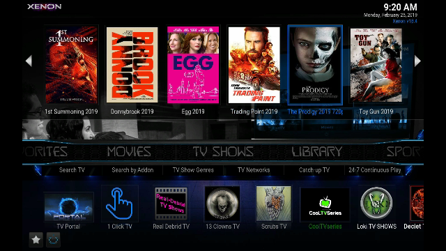 Guide Install Diggz Xenon Build Kodi 18 Leia - New Kodi