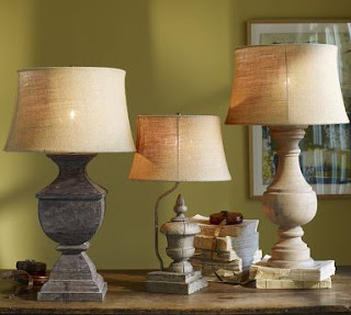Pottery Barn Architectural Salvage Lamp Knockoffs From Homegoods