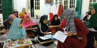 Remaja Mesjid Assa'adah Gelar Lomba Kaligrafi