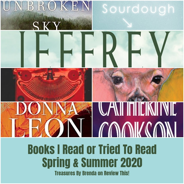 Books I Read (Or Tried To Read) During Spring and Summer 2020: A List
