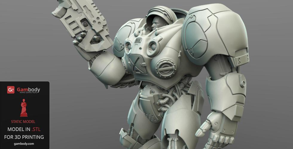 3D Model Marine