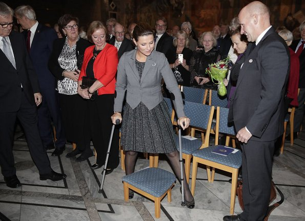 Princess Martha Louise attended celebrations of 100th anniversary of HLF Hørselshemmedes Landsforbund