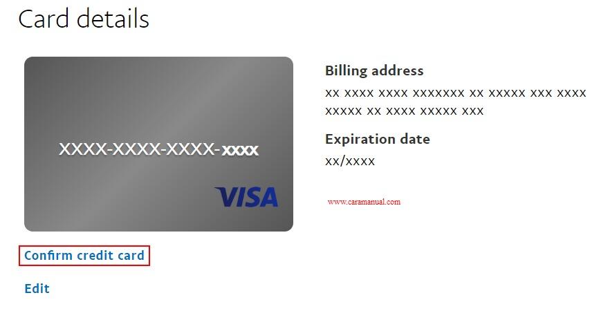 Konfirmasi Kartu Kredit Jenius