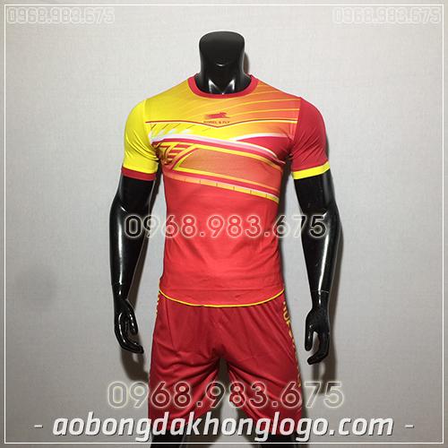 Áo bóng đá ko logo Zuka Korel màu đỏ