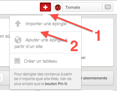 ajouter un pin, ordinateur, épingle, épingle, pinterest,