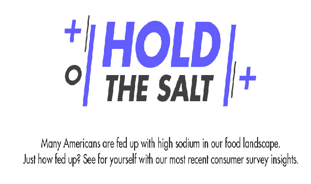 Hold the Salt #infographic