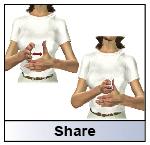 sign language share