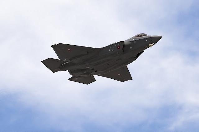Denmark's first F-35 Lightning II Takes Flight