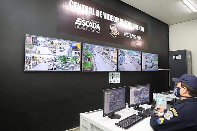 Prefeitura de Escada aponta alto preço pago a empresa de monitoramento, e abrirá licitação para compra dos equipamentos