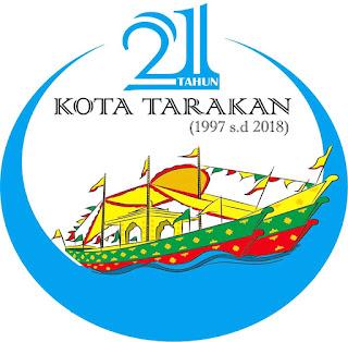 Tema dan Logo HUT Ke-21 Kota Tarakan