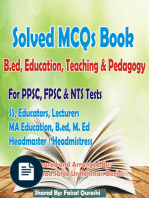 Latest Top 100 Solved MCQs Education Child Development Pedagogy MCQs for NTS AEOS and Educator Jobs 2021 Must Prepare Now