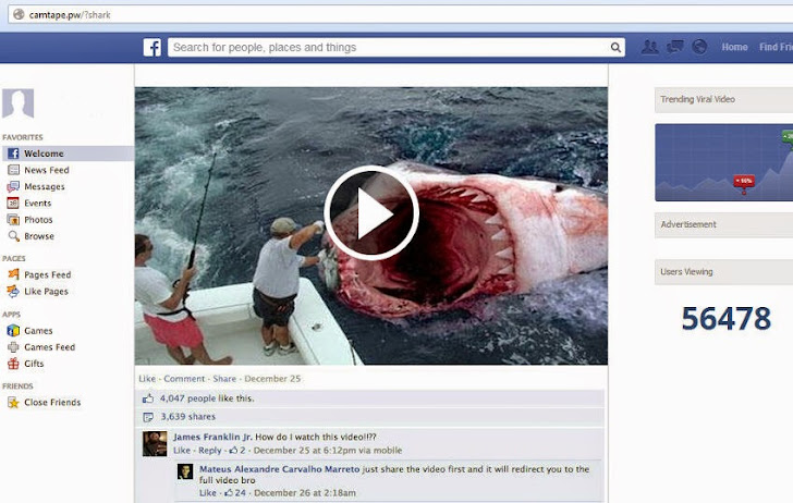 Real Ghost Caught on Camera! New Facebook Scams Lure Users to