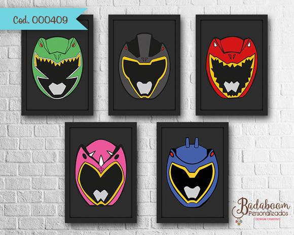 Power Rangers, Power Rangers Dino Charge, arte digital, kit digital poster, posteres, posters, prints, print, para imprimir, quadro, quadrinho, festa, infantil