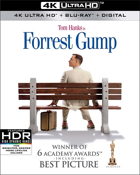Forrest Gump 4K (1994) 2160p 4K UltraHD HDR BluRay REMUX 75GB mkv Dual Audio Dolby TrueHD ATMOS 7.1 ch