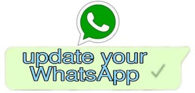 Update Your Whatsapp