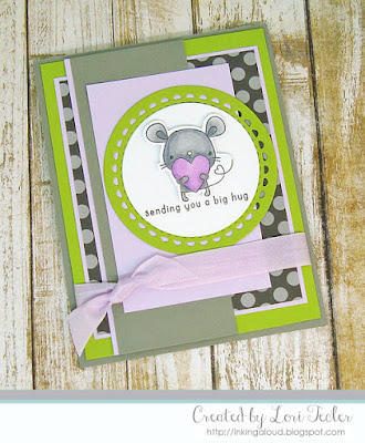 Sending You a Big Hug card-designed by Lori Tecler/Inking Aloud-stamps and dies from Reverse Confetti