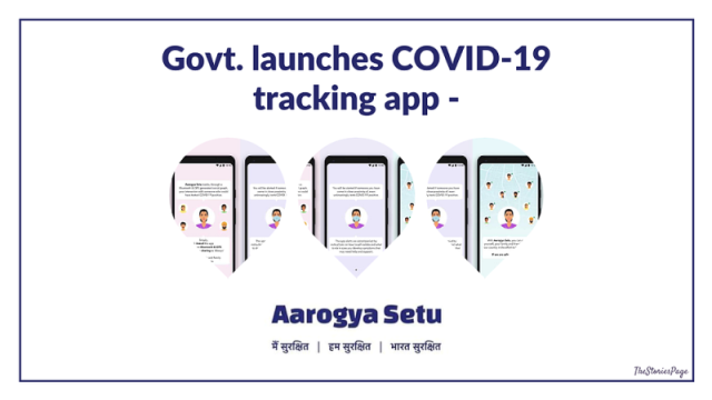 "Government launches COVID-19 Tracking App ""Aarogya Setu"""