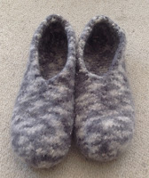 Felted Slippers - I Wool Knit