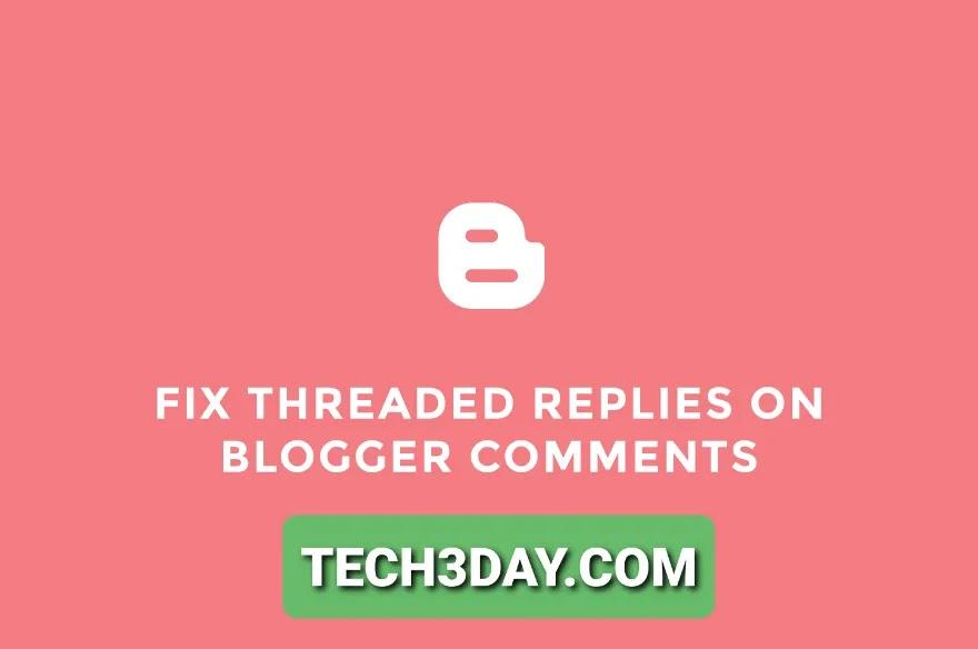كيفية حل مشكل زر الرد على تعليقات بلوجر لا يشتغل