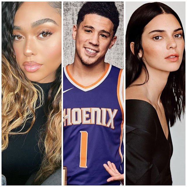 Jordyn Woods reaction to her ex Devin Booker's trip with Kendall Jenner