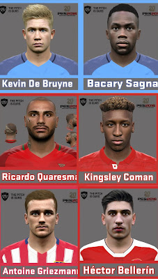 PES 2016 Facepack Update 19/08/2016 by Ozy_96 PESMOD