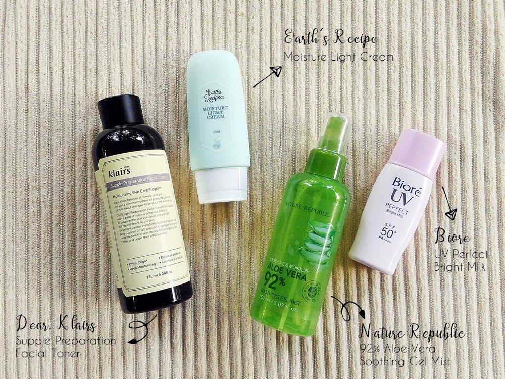 Renee's Morning Skincare Routine