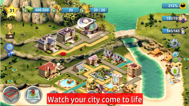 City Island 4: Sim Tycoon (HD) 1.4.2 MOD APK Unlimited Money For Android Download