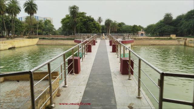 pond in kariyaki dham