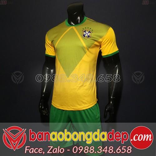 Áo Brazil Vàng 2019 2020 Training 1