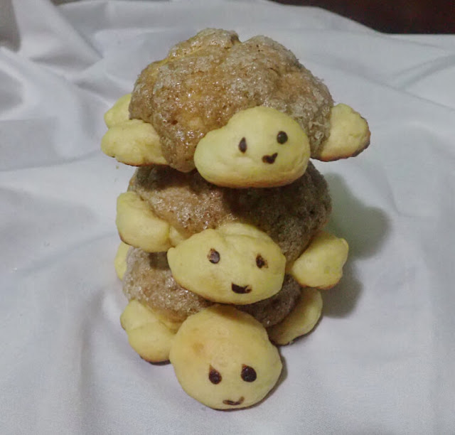 turtle melonpan
