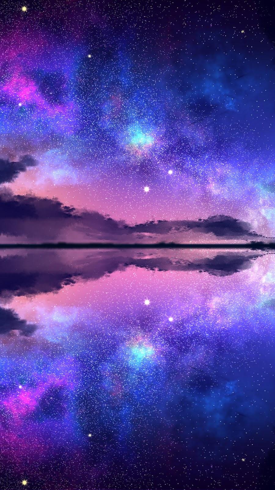 Night sky aesthetic