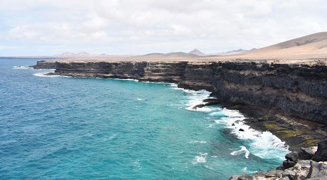 Paisaje acantilados Fuerteventura