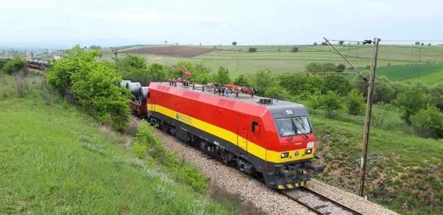 Mazedoniens Bahn nimmt erste chinesische CRRC-Lokomotive für Güterverkehr in Betrieb