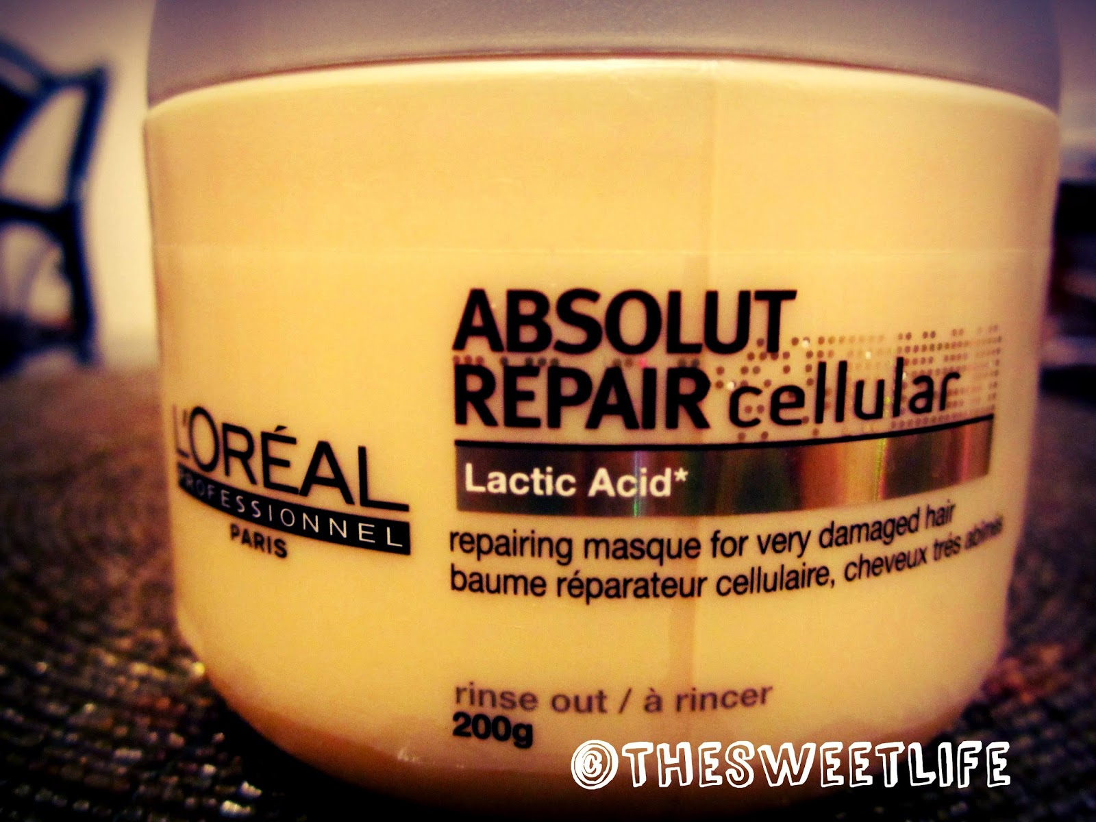 Loreal Professional Absolut Repair Cellular Repairing Masque Review
