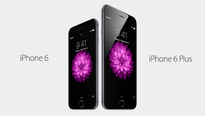 List of Premium Smartphones are Competing at The Top - Apple iPhone 6 and 6 Plus.