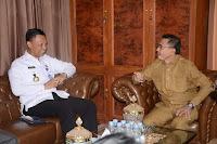 Wakil Walikota Bima Terima Kunjungan Kepala BNNP NTB