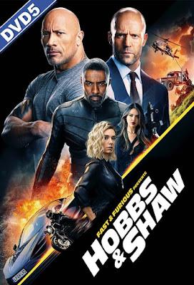 Fast & Furious Hobbs & Shaw 2019 DVD R1 NTSC LATINO
