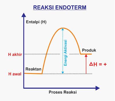 gambar reaksi endoterm