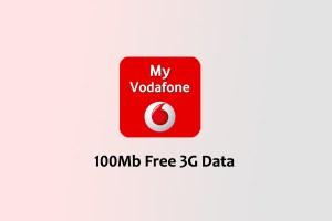 My Vodafone 100 MB Free 3G Internet Data