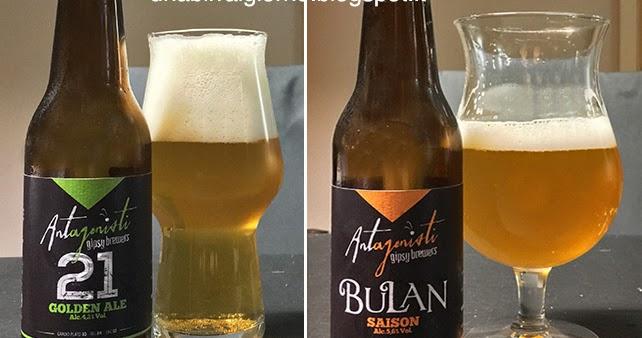 Antagonisti: 21 Golden Ale e Bulan