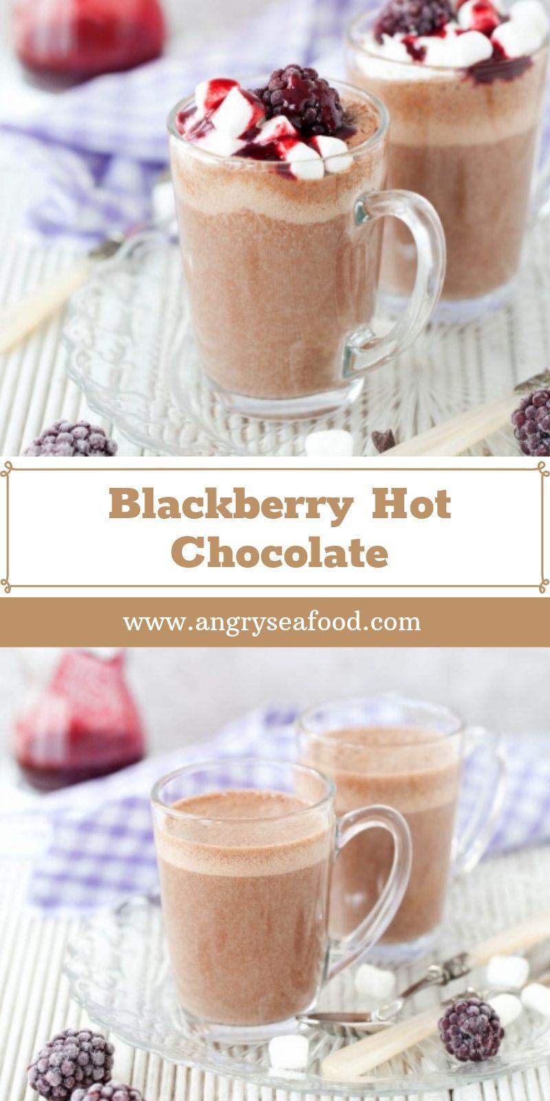 Blackberry Hot Chocolate