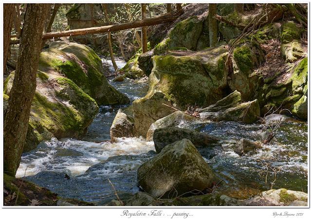 Royalston Falls: ... passing...