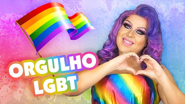 Comemorando o dia Internacional do Orgulho LGBT