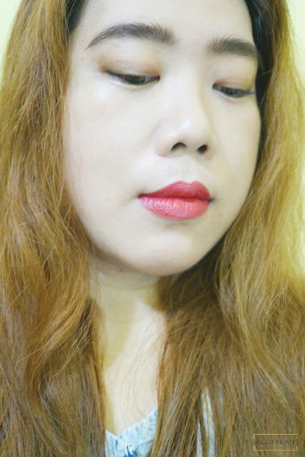 Burberry Lip Velvet Long Wear Lipstick in Rosy Red No. 428