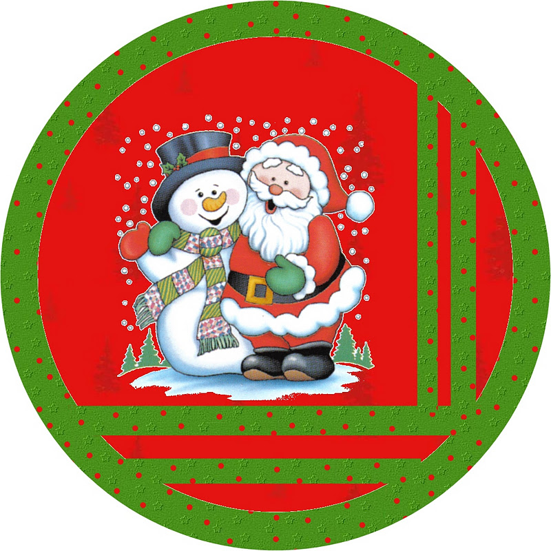 Santa And Snowman Free Printable Candy Bar Labels Oh