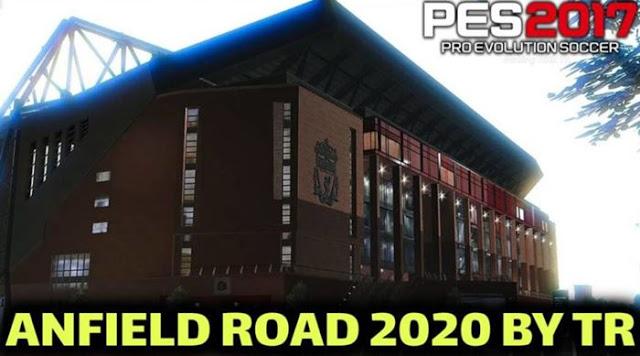 PES 2017 - New Anfield Stadium