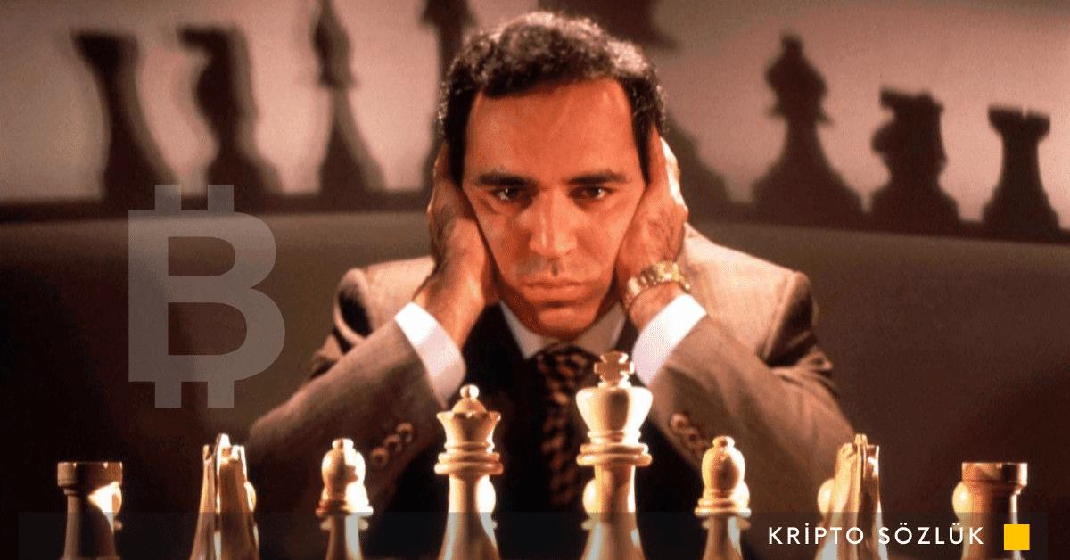 Bitcoin Kaçınılmaz: Satranç Efsanesi Garry Kasparov