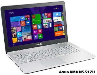 harga laptop asus amd n551zu dan spesifikasi