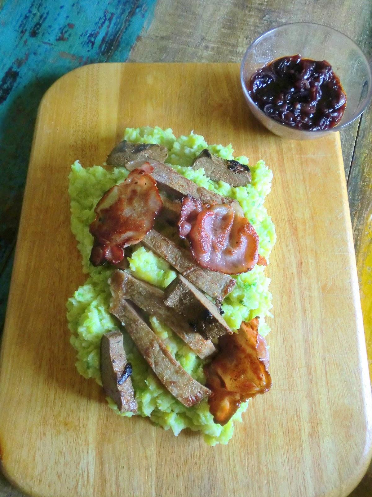 Das Auge Isst Mit 31 Januar 2016 Steak Leber Kartoffel